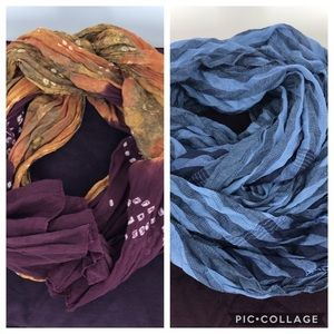 Two Scarfs for the price of one!!